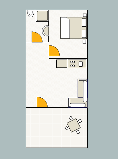 Ground-plan of the apartment - 5 - Typ/2+2